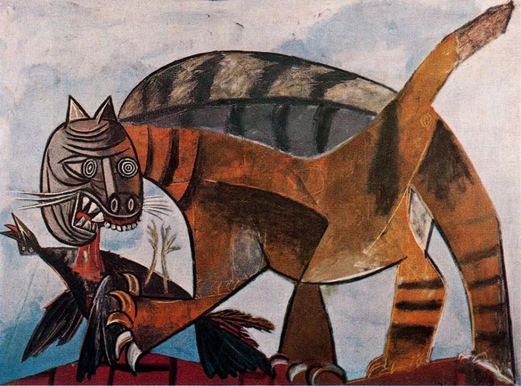 cat-eating-a-bird-19391